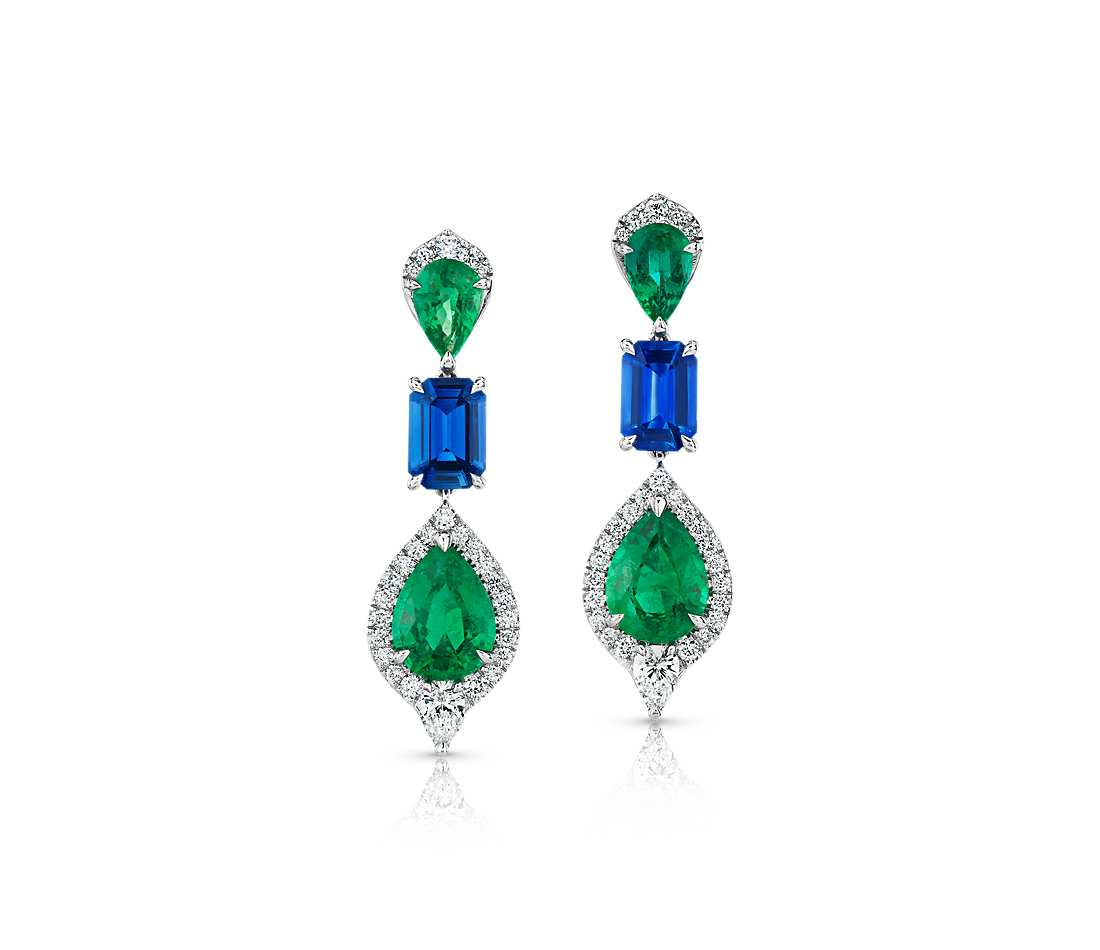 Emerald Drop Earrings Styling and Wearing Inspiration Guide