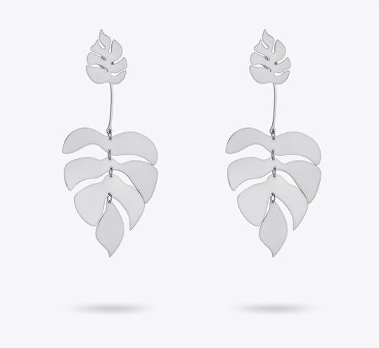 Dangle Leaf Earrings