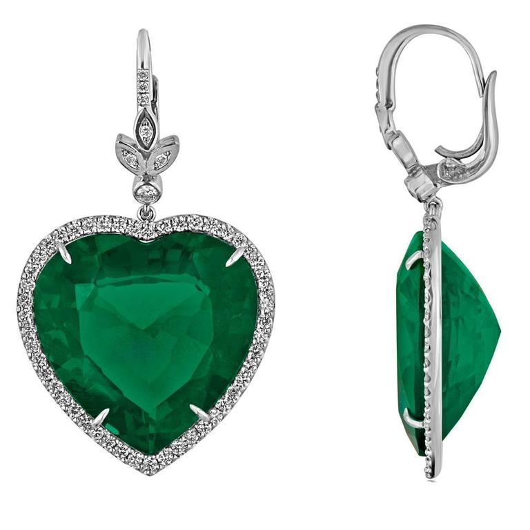 Emerald Heart Earrings You Need To Buy Right Now