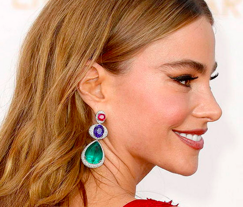 10+ Gorgeous Sapphire and Emerald Earrings