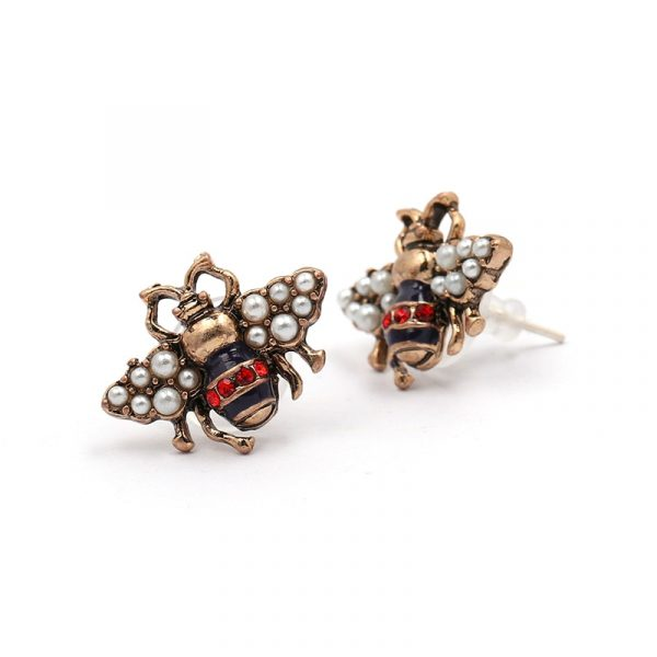 insect stud earrings