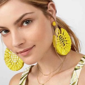 yellow-tassek-earrings